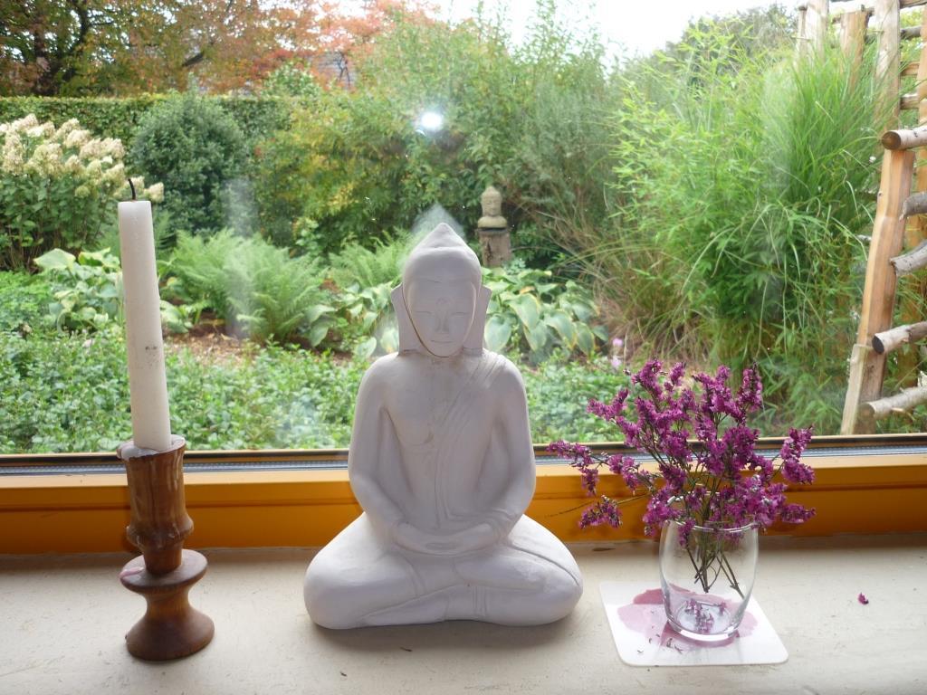 Buddha sitting by my office